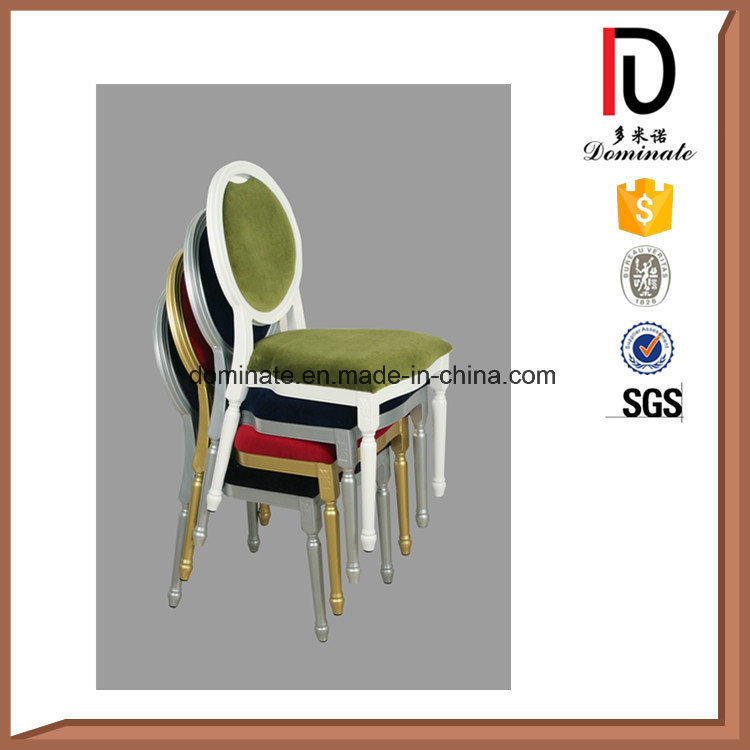 Aluminum Metal Church Dining Hotel Restaurant Banquet Chair Furniture (BR-A390)
