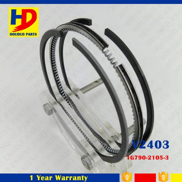 V2403 Cylinder Engine Piston Ring for Kubota Forklift Spare Parts (1G790-21053)