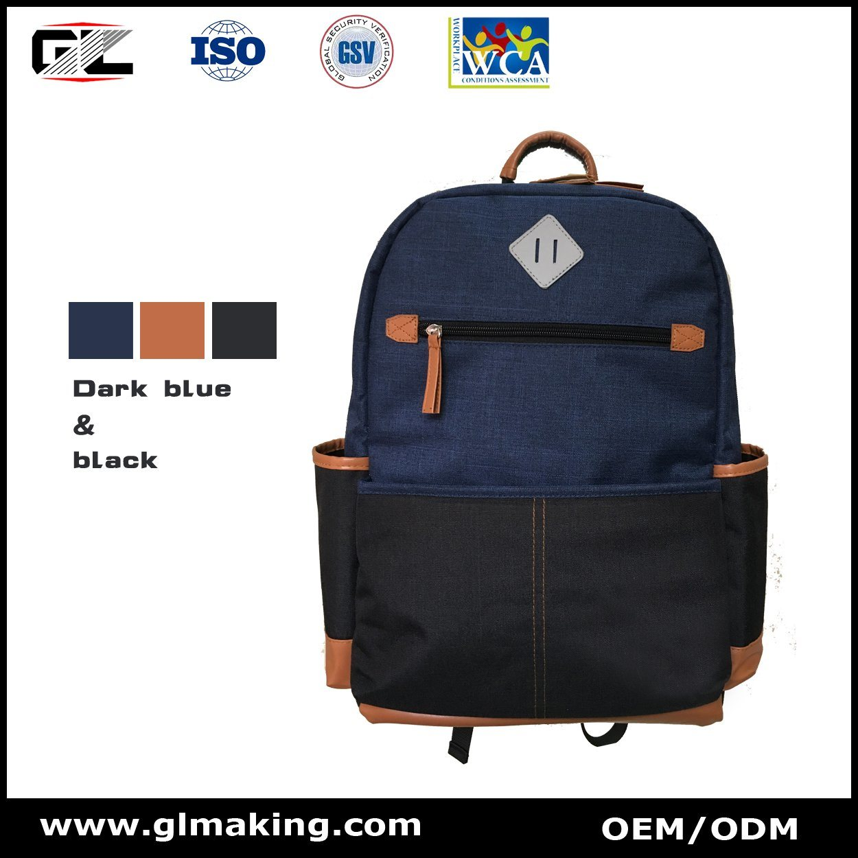 Fashion Design Computer Backpack From Manufacturer