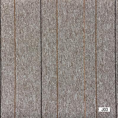 Jiang- 1/10 Gauge Polypropylene Bcf Flat Loop Jacquard Carpet Tile with Bitumen Backing