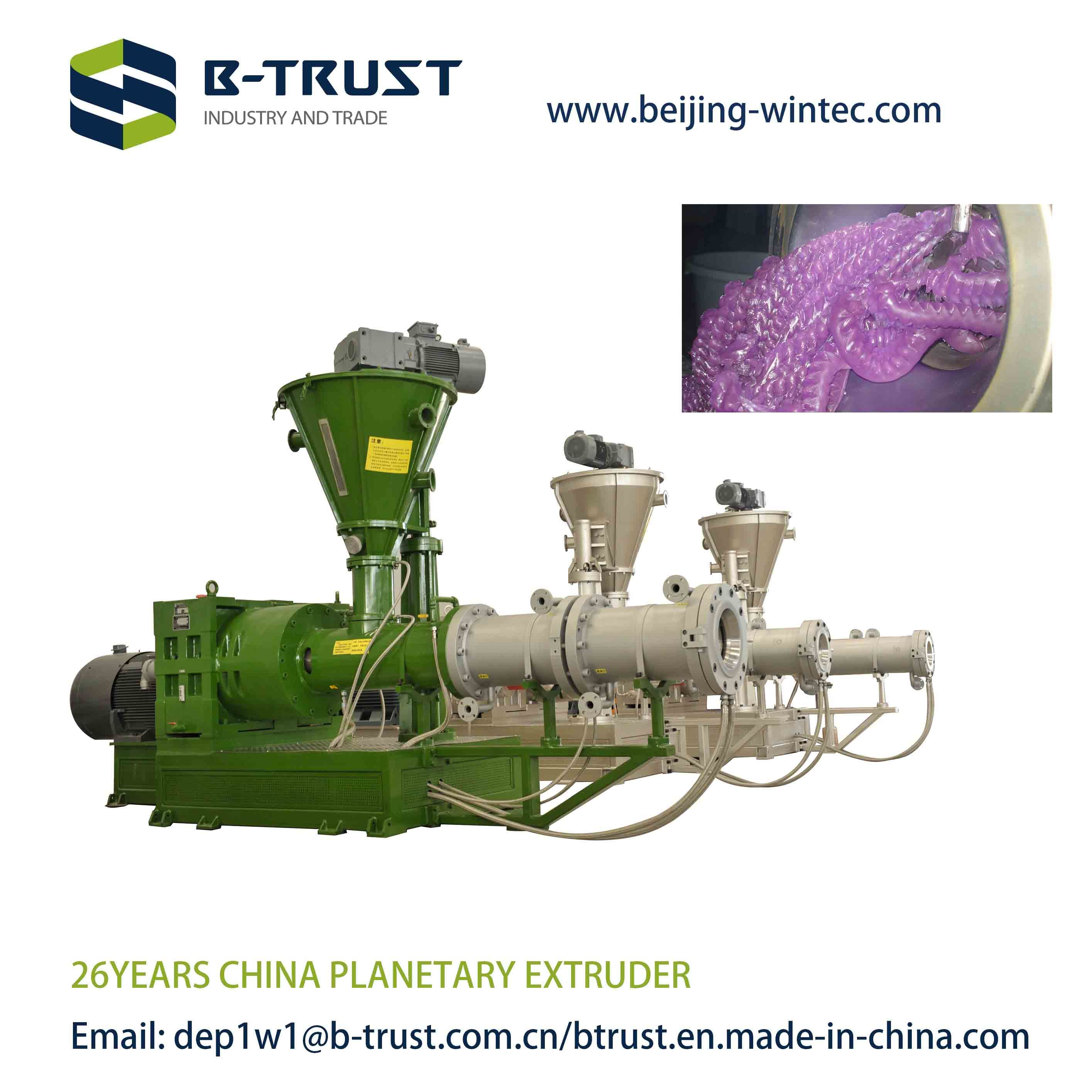 Semi Rigid PVC Calendering Line with Planetary Extruder