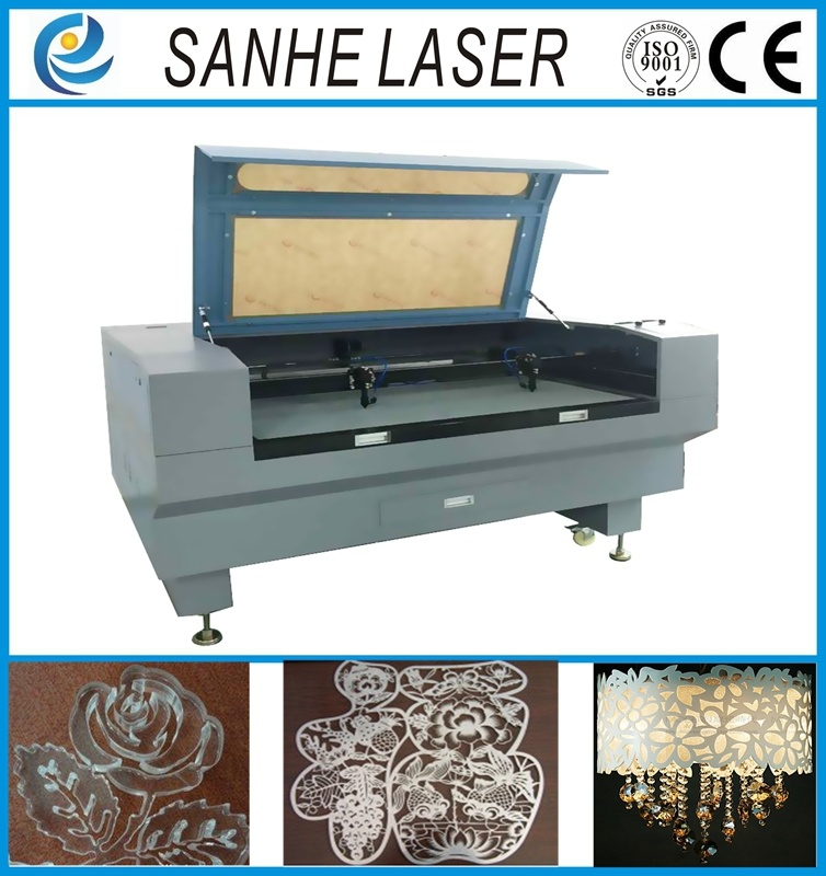 Automatic Feed Cloth Leather CO2 Laser Engraver Engraving Machine Cutting with 100W130W