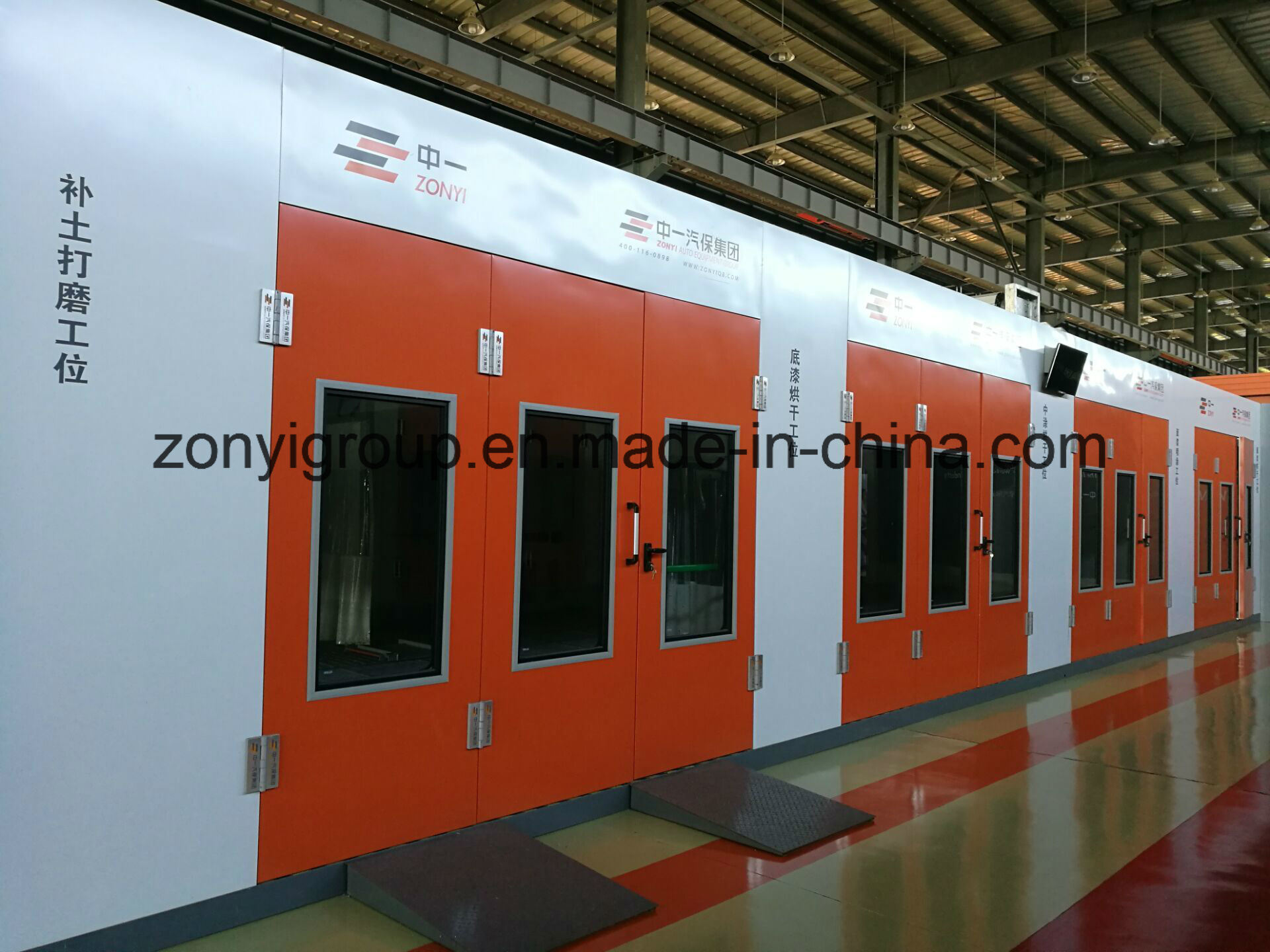 TUV Spray Booth High Quantity Spray Booth Factory