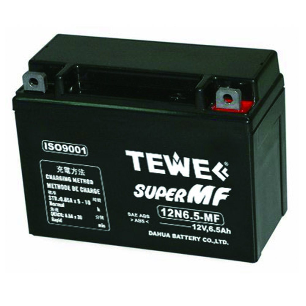 12V 6.5ah Sealed Maintenance Free Motorcycle Battery