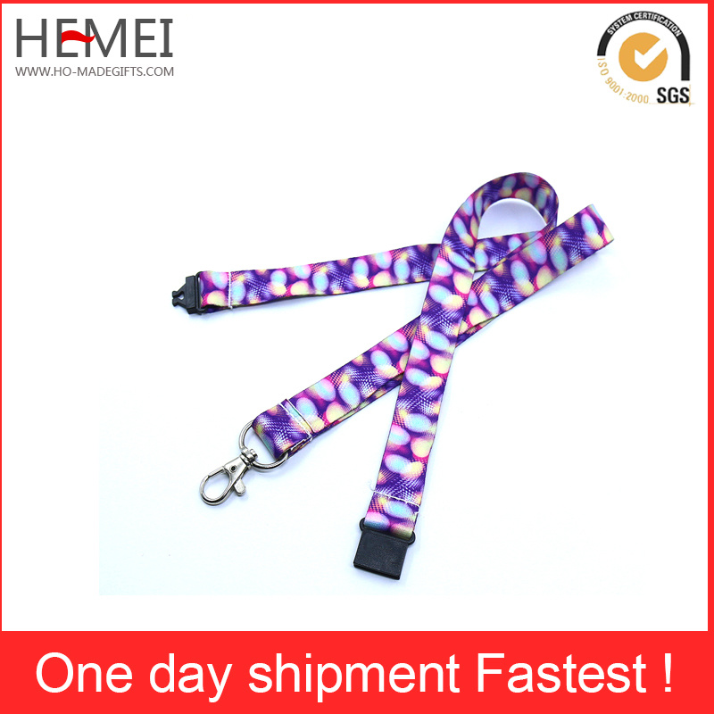 Custom Printed Lanyards with Detachable Buckle