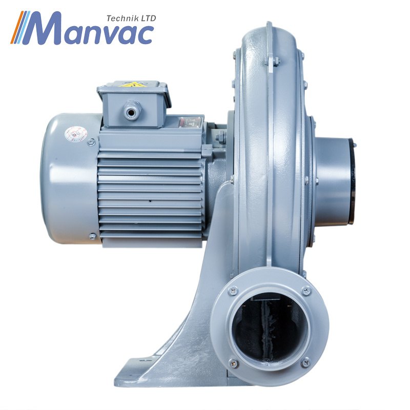 1.5kw Medium Pressure Radial Blower for Blowing Air