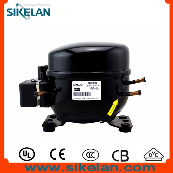 Light Commercial Refrigeration Compressor Gqr90u Lbp R290 Compressor 220V