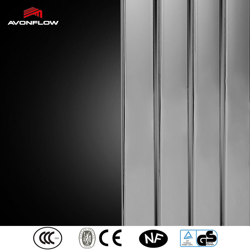 Avonflow Chrome Hot Water Central Heating Radiator