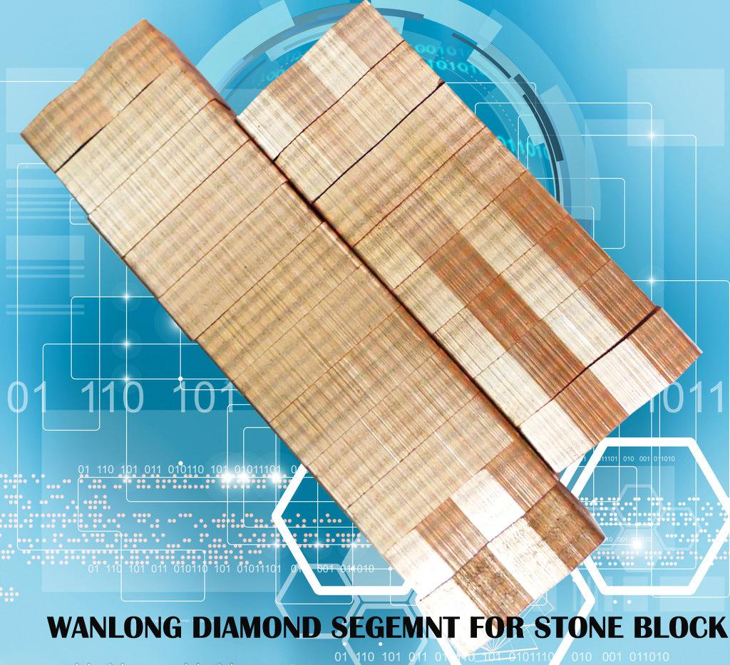 Granite Cutting Diamond Tools Diamond Segments for Slab and Block Cutting