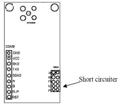 433MHz Zigbee Equipment, Io Function Wireless Data Telemetry Modem Hr-1024