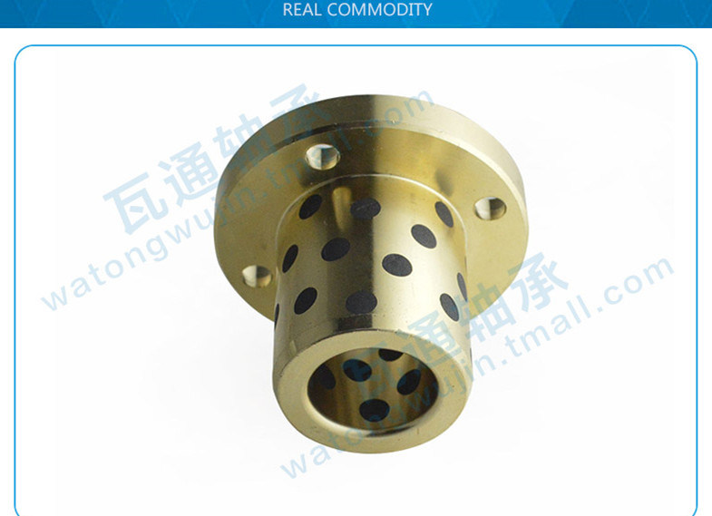 Self-Lubrication Bearing Plastic Flange Bushing Front Wheel Bearing