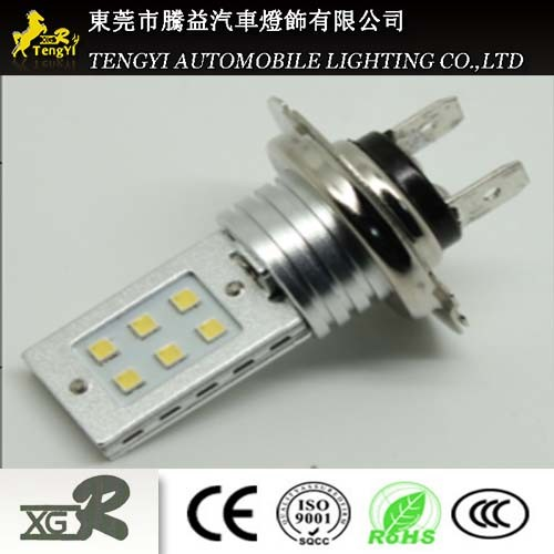 12V 12W LED Car Light Auto Fog Lamp Headlight with H7/H8/H9/H10/H11/H16 Light Socket CREE Xbd Core
