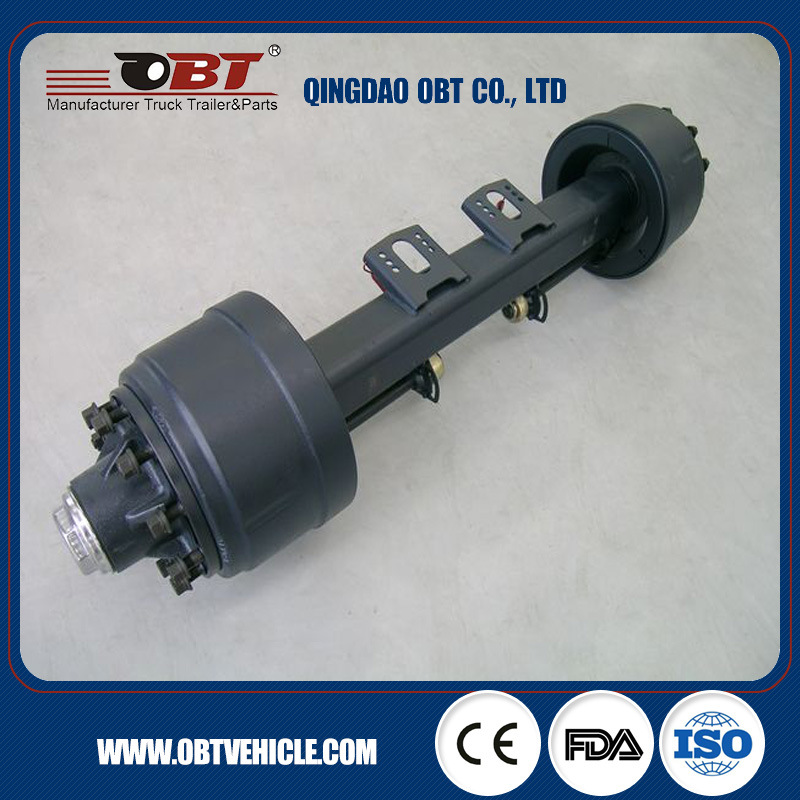 American Type 11t 13t Truck Trailer Axle for Russia Market