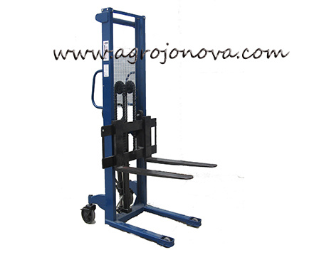 Hand Hydraulic Forklift Pallet Stacker JO with Ce