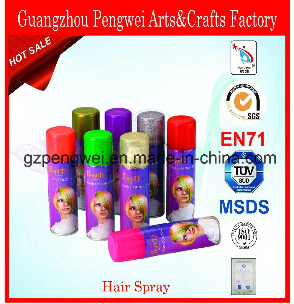 Fashionable Washable Glitter Hair Spray