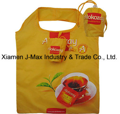 Foldable Shopper Bag, Promotion Bags, Coffee Cup Style, Reusable, Lightweight, Gifts, Promotion, Tote Bag, Decoration & Accessories, Grocery Bags