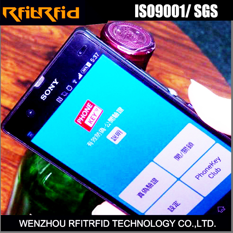 Anti-Counterfeit Protection Small Size NFC Stickers Tag