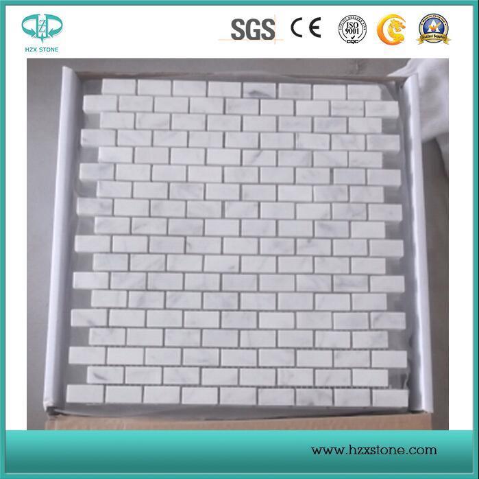 White Marble/Marble Slabs/White Marble Mosaics/China Marble Mosaics/Mosaic Border/Tiles