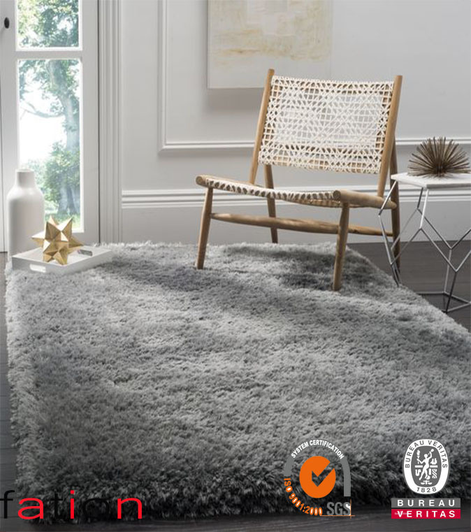 High Quality Plain Shaggy Collection Floor Carpet Home Decoration Area Rugs