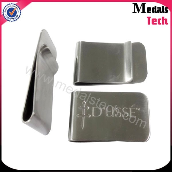 High Polish Stainless Steel Money Clips
