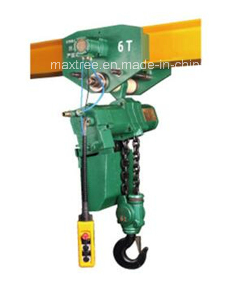 Maxtree Air Hoist Manufacturers Power Handling Lifting Hoist with Trolley