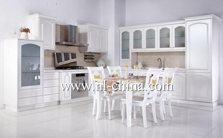 Walnut Wood Furnitures with Granite Countertop