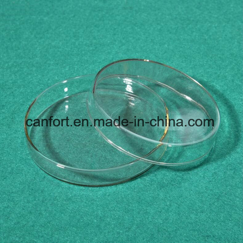 Glass Petri Dish for Laboratory