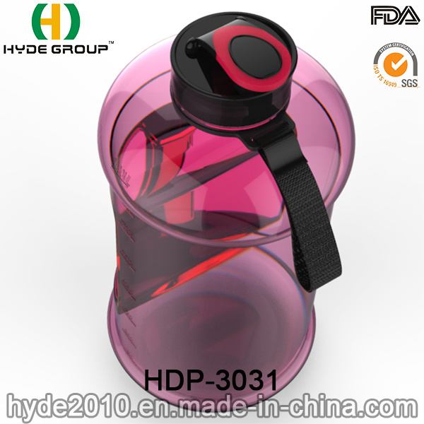 Wholesale Best 2.2L/2.5L BPA Free Tritan Water Jug, BPA Free PETG Plastic Water Bottle with Handle (HDP-3031)