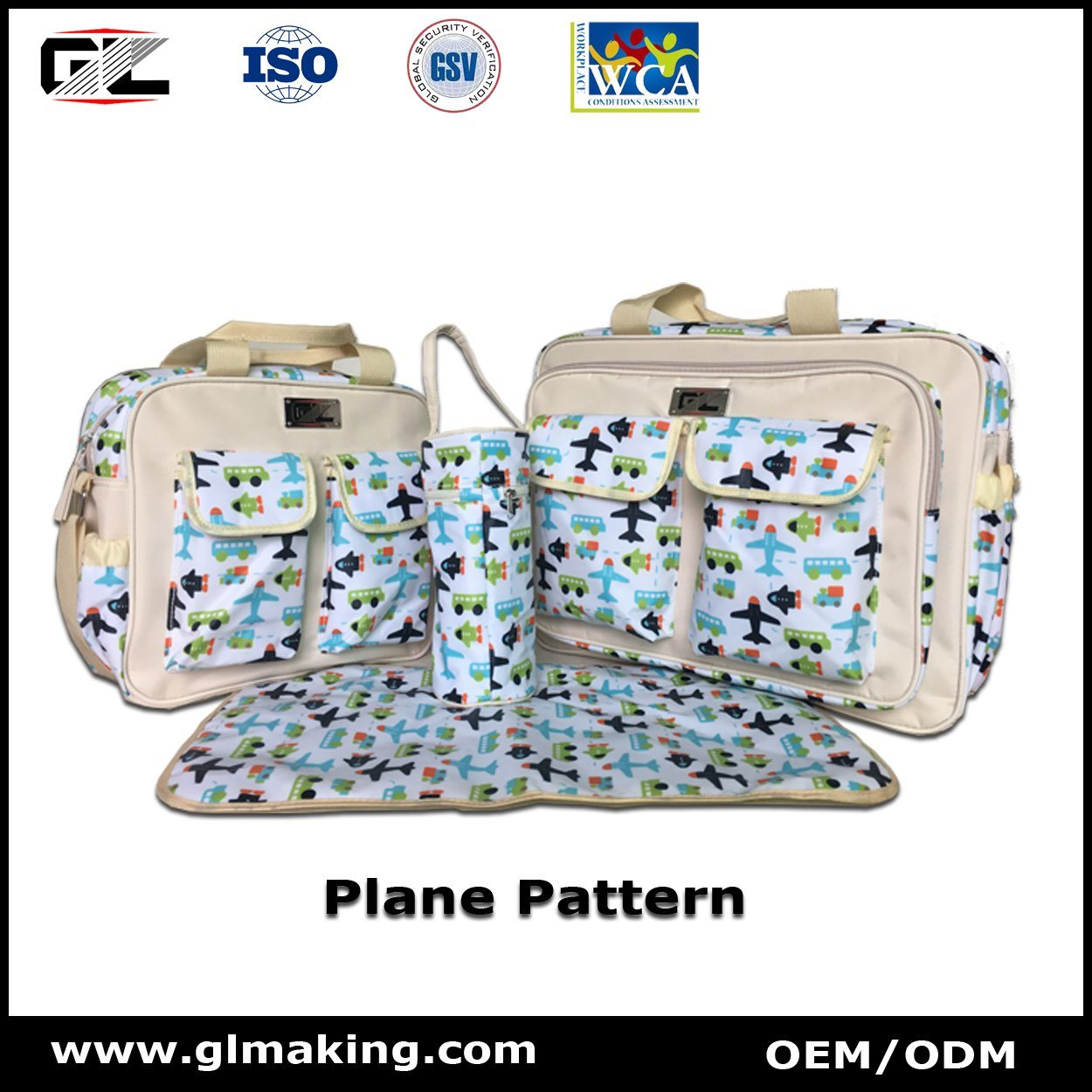 Big Capacity Diaper Bag From Manufacturer