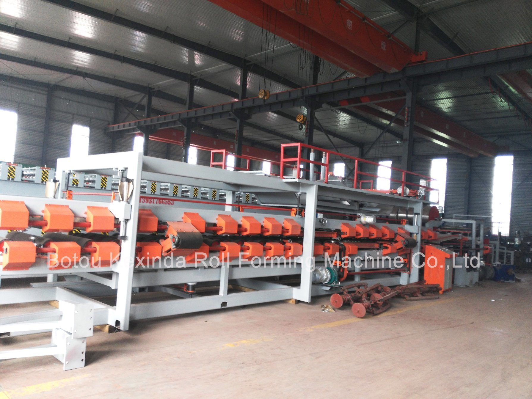Rock Wool & EPS Sandwich Panel Making Machine for Sale