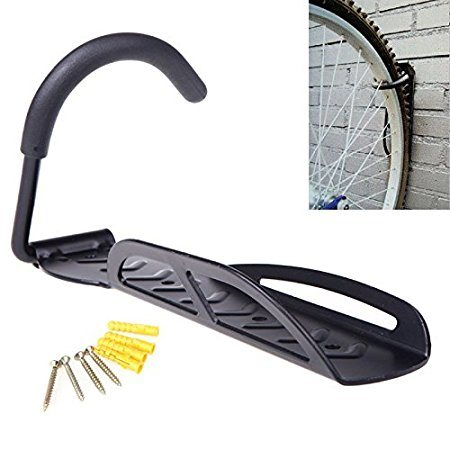 Wall Mount Bike Hanger Storage System Vertical Bike Hook for Indoor Shed