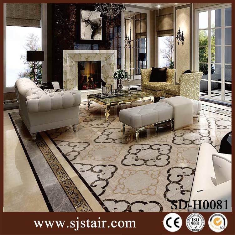 Great Design Residential Floor Tiles Composite Marble Flooring