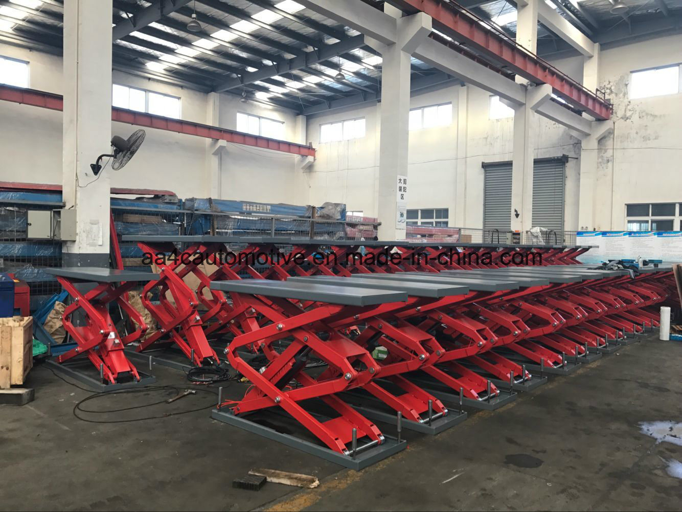 Inground Hydraulic Scissor Lift