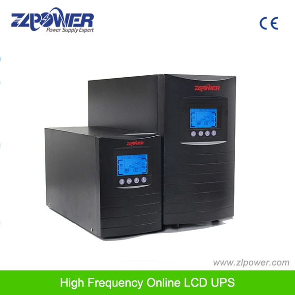 High Frequency Pure Sine Wave Online UPS 3kVA Builtin Batteries