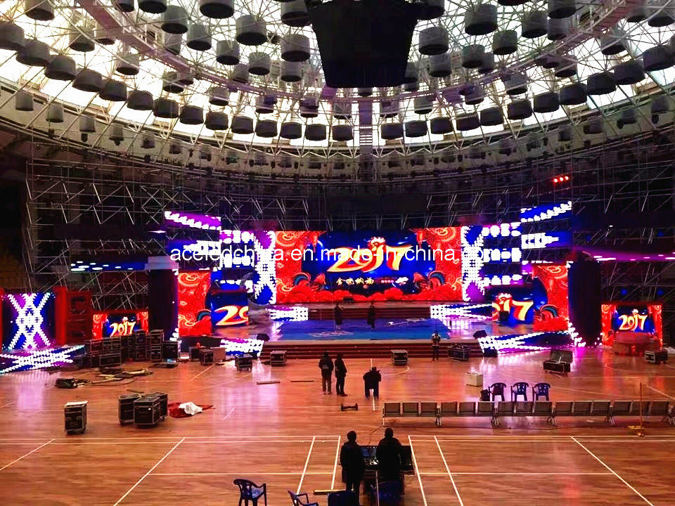 Advertising Stage Indoor Rental LED Display P3.125, P3.91, P4.81