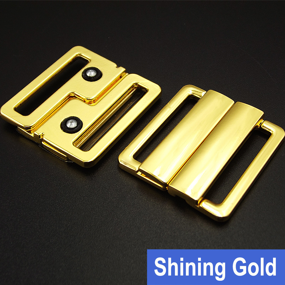 25mm Shining Gold Metal Buckle for Swimwear