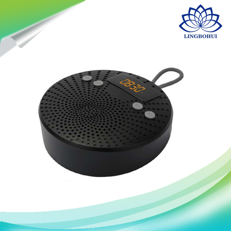 Multifunction Smart Shower Bluetooth Wireless Speaker with Alarm Clock