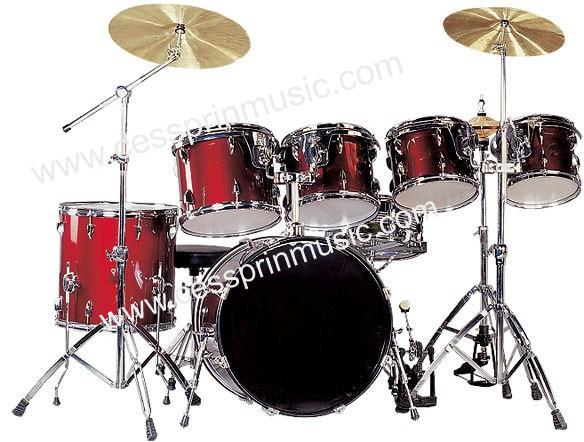 7 PC Drum Set/ Hot Sell/ Drum Manufacturer/ Cessprin Music (CSP7012)