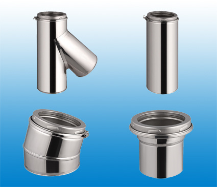 Stainless Steel Flue Pipe for Chimney Kits with Ce/UL Certify