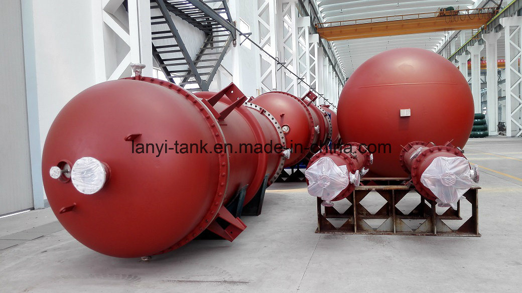 Chinese High Quality Stainless Steel Pressure Vessel Heating Exchanger for Oil, Water
