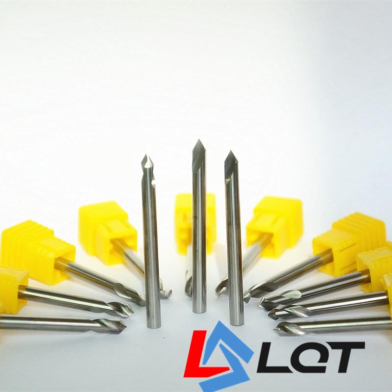 HRC55 CNC Machine Tungsten Carbide Pilot Drill Bits DIN 338