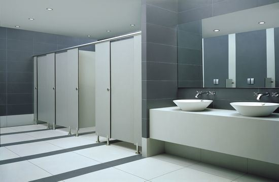 Hot Sale Wood Anti Impact Cubicle Bathroom Partitions