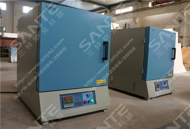 1400c 3 Liters Box Type Furnace for Laboratory Heat Treatment