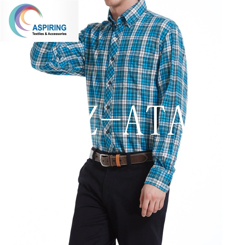 Yarn Dyed Fabric Tc 60/40 for Fashion Shirt Garment