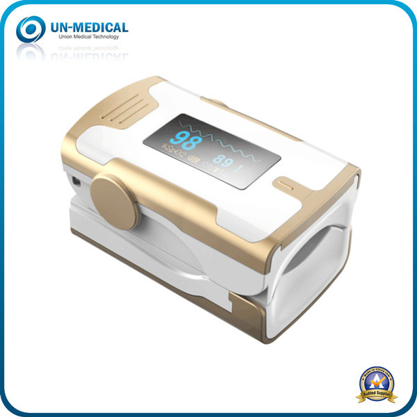 New Arrival-Fingertip Pulse Oximeter (white yellow)