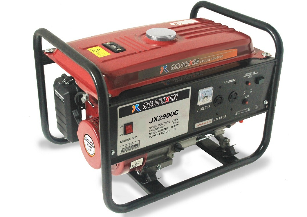 Jx3900c 2.8kw High Quality Gasoline Generator with a. C Single Phase, 220V