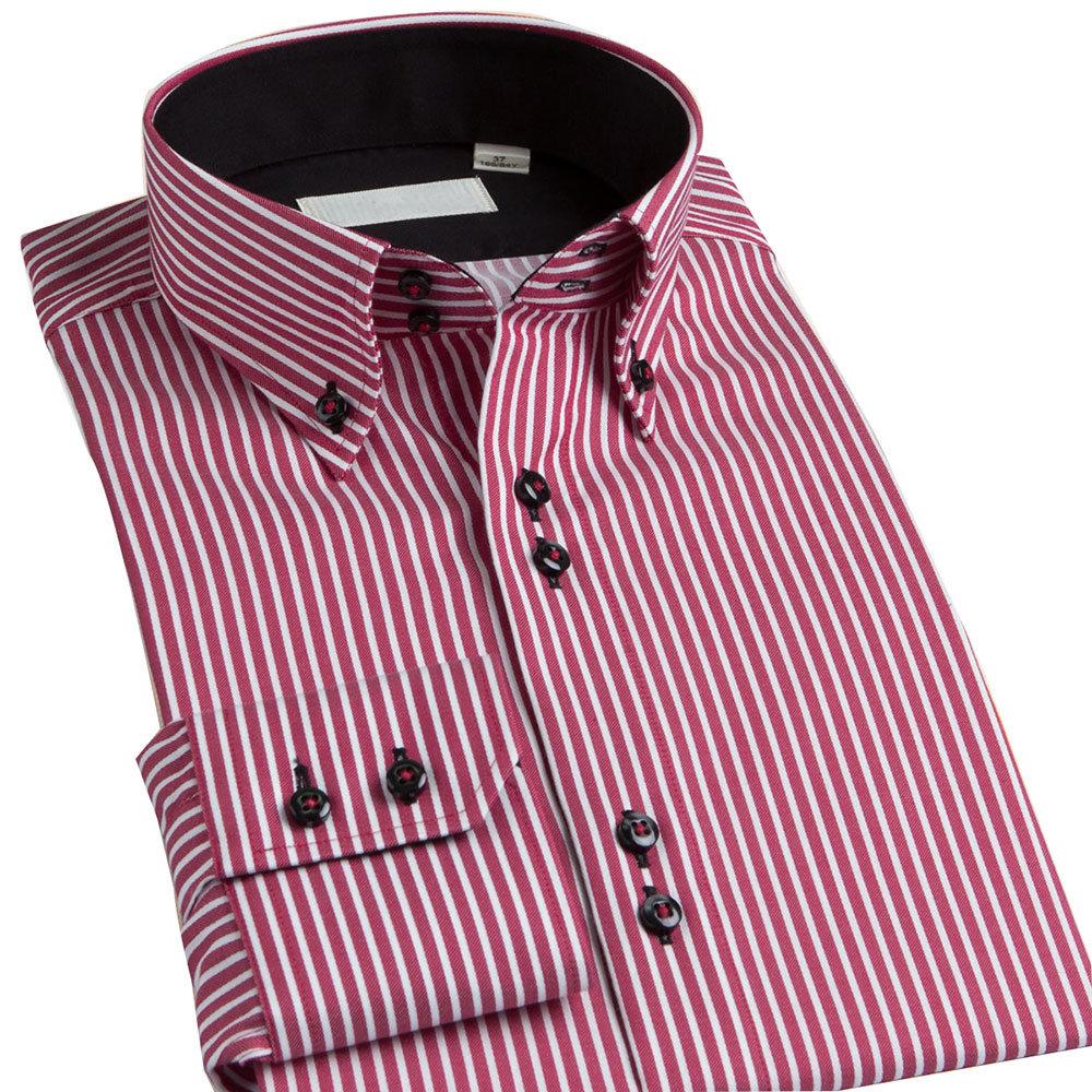 Custom 100% Cotton Mens Dress Shirt