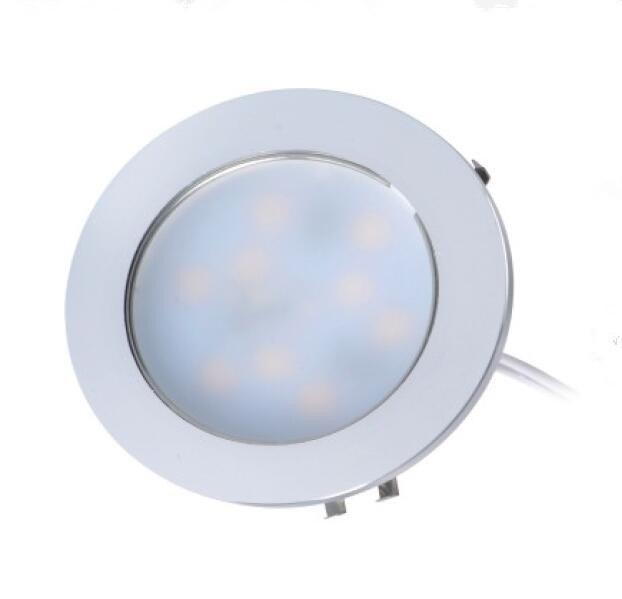 3W Aluminum LED Ceiling Recessed