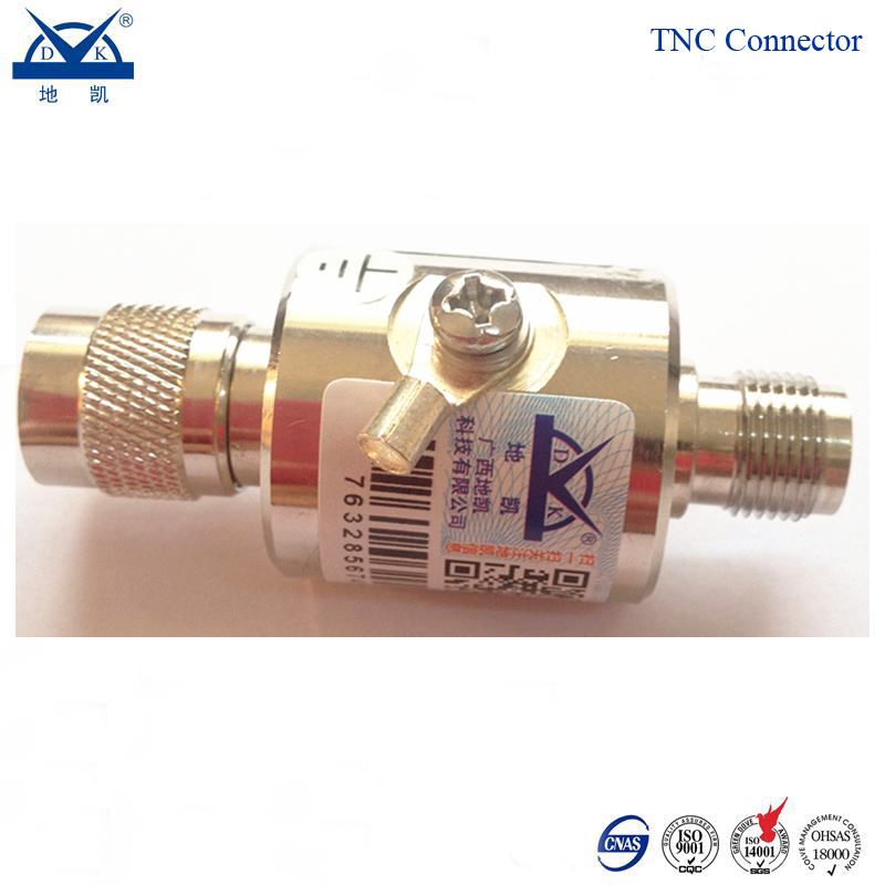 0-2000MHz Antenna Feeder SMA Type Connector Lightning Protection Device