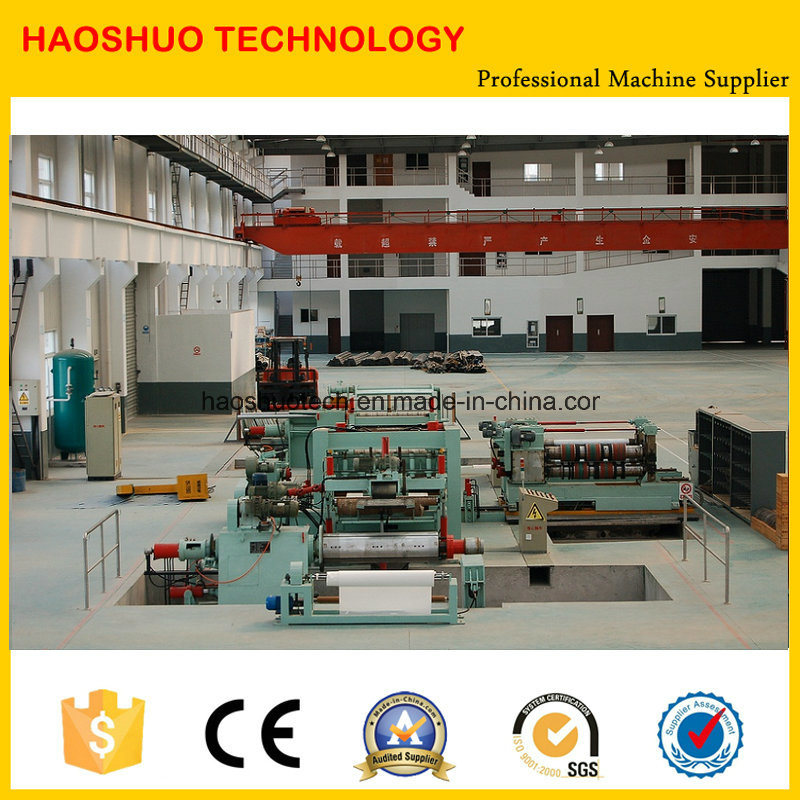 High Precision Slitting Line for Thick Plate